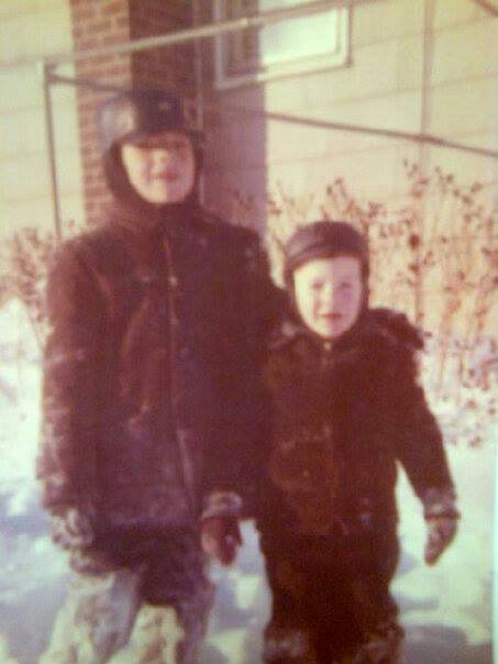 fred and me as kids