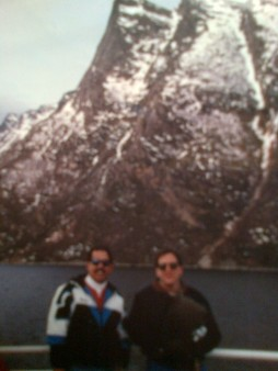 joe and me in norway