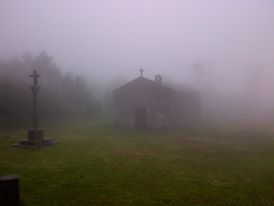 chapel-rain