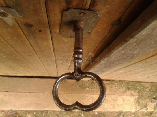 bigger-old-worn-black-shiny-key-oak-wooden-dusty-cellar-door-close-up-above-daylight-wine-there-bit-cut-dry-53864494