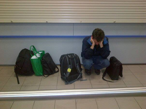 3:30 am, Vlodivostok, waiting for a plane