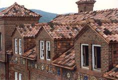 Devereux Hall (detail, roof), St. Bonaventure University