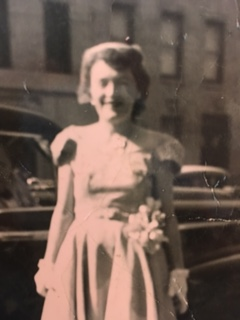 Grandma on her 39th birthday; also my parents' wedding day